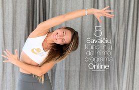 5 savaičių kūno linijų dailinimo programa moterims Online